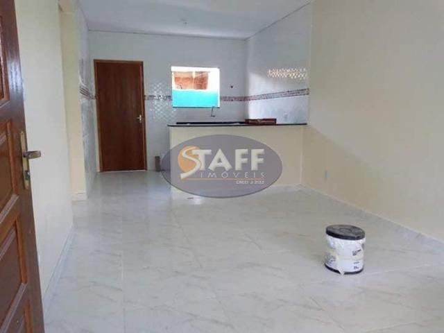 OLV-Casa com 2 dormitórios à venda, 55 m² por R$ 85.000 - Unamar - Cabo Frio/RJ CA0956 - Foto 2