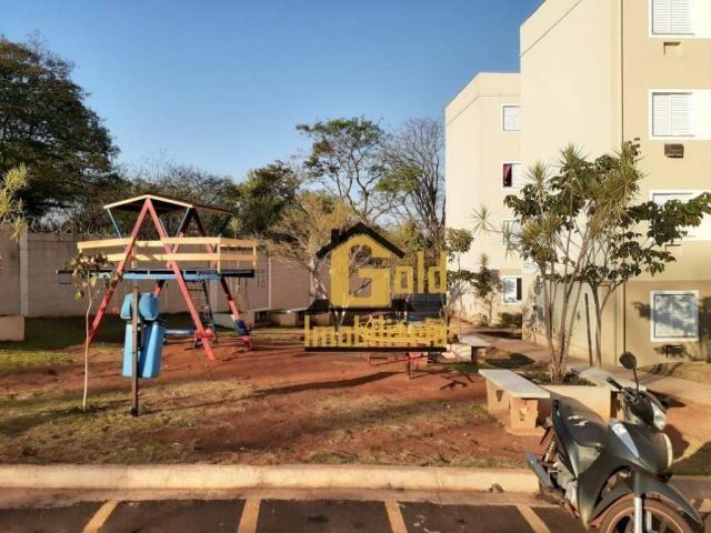 Apartamento com 2 dormitórios para alugar, 46 m² por R$ 1.200/mês - Jardim Heitor Rigon -  - Foto 20