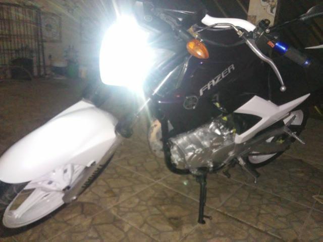 Vendo uma moto feize top de linha toda legalizada so no ppnto de transferi - Foto 4