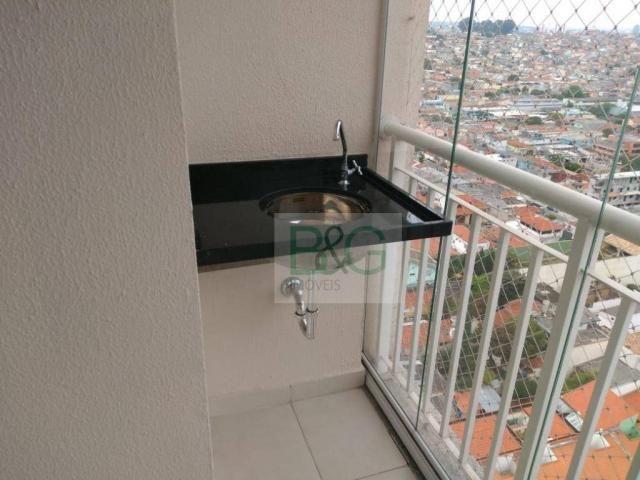 Apartamento com 3 dormitórios para alugar, 76 m² por r$ 2.200/mês - vila formosa - são pau - Foto 8