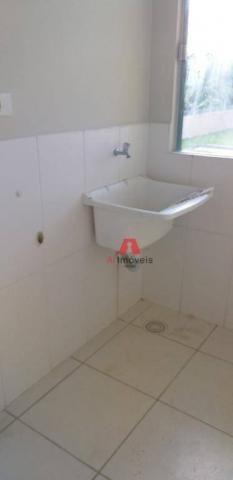Apartamento com 2 dormitórios para alugar, 53 m² por R$ 1.225,00/mês com CONDOMINIO E IPTU - Foto 14