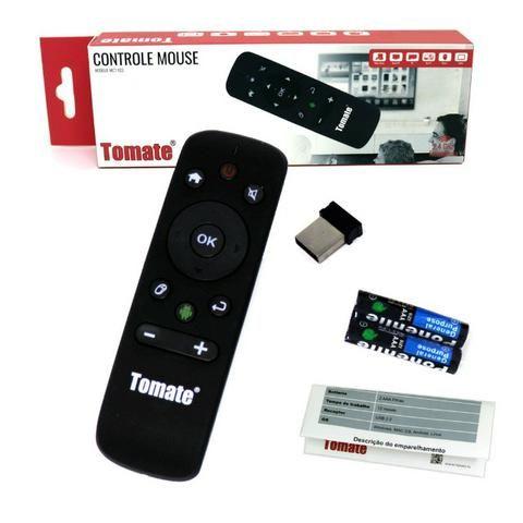 Controle Wireless Mouse MCT-103 Tomate Giroscópio Para Computador Tv Box Smart Tv Android