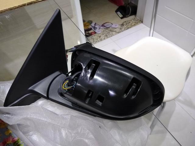 Retrovisor elétrico da fiat toro zero original lado motorista (elétrico) - Foto 5