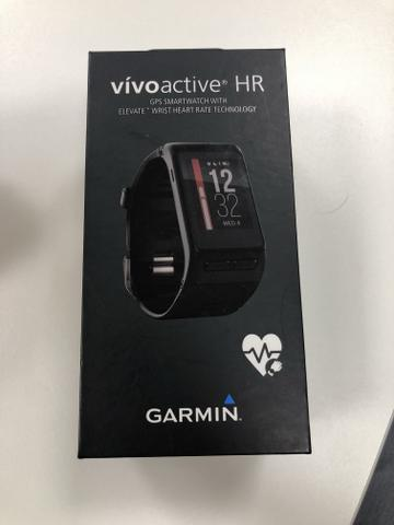 d0f4b8eb3f9 Relógio smartwatch Garmin VivoActive HR - Bijouterias