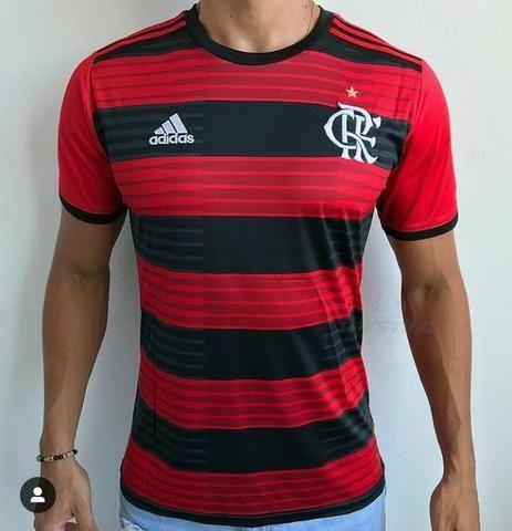 4017fe0cd87dc Camisa Flamengo 2018 2019 + Brinde - Roupas e calçados - Vila Rosali ...