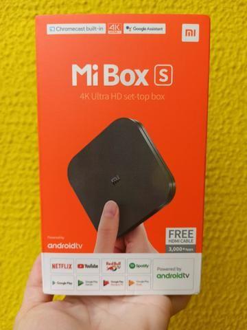 Box TV Xiaomi Mi Box S 4K Ultra HD