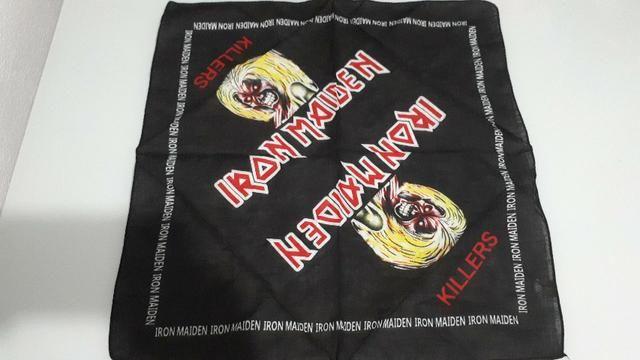 Bandanas Rock AC/DC Iron Maiden Metallica Sepultura