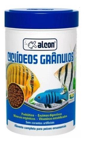 Ração para peixes ciclídeos grânulos 130g Alcon