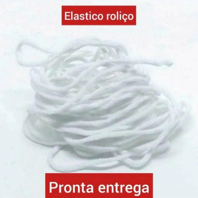 Elástico Rolico Para Máscaras Rolo com 100 metros  - Foto 2