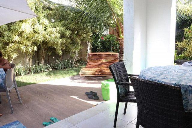 GN- Casa com 5 suítes, piscina privativa, deck, mobiliada, prox. a praia de Muro Alto - Foto 5