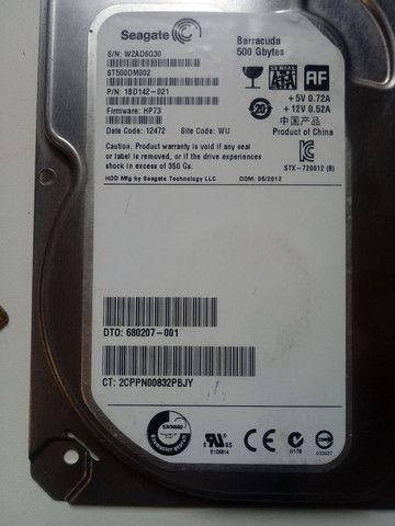 Placa lógica hd seagate 500gb st500dm002 - Foto 2
