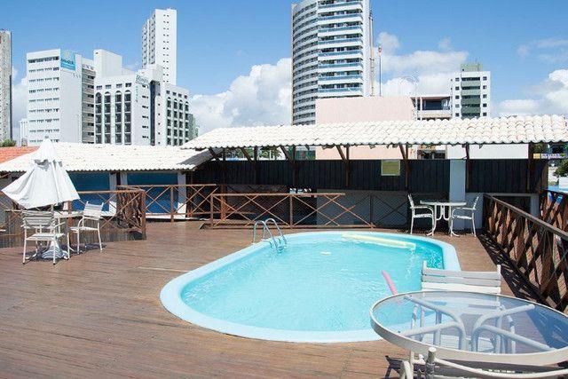 Apartamento em Ponta Negra Mobiliado - 35m² - Marsallis Flat - Foto 20