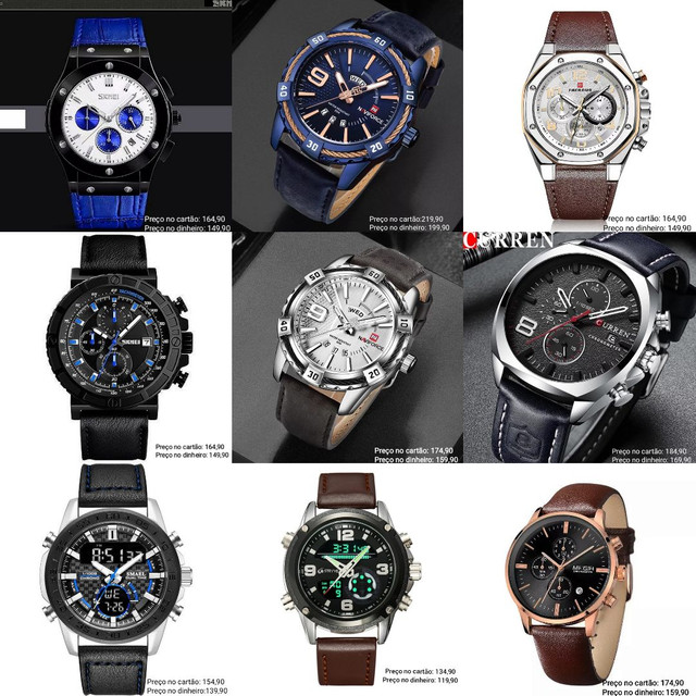 Relógios masculinos Importados originais exclusivos - Foto 5