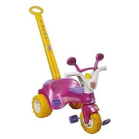 Triciclo Fofy c/ porta objetos e buzina Brinquedo (Entrega Imediata)