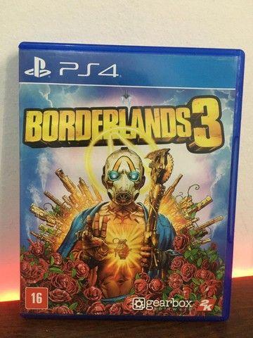 Borderlands 3 PS4 midia Original usada 1 vez