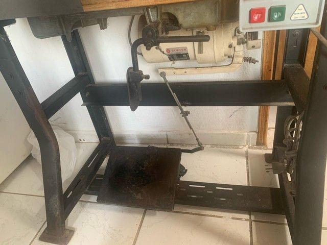 V: máquina de costura profissional singer , já com bana - Foto 5