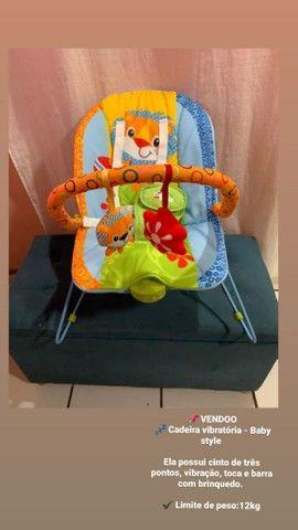 Cadeira de descanso com som - Baby style