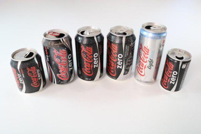 Latas de Coca-cola para colecionador