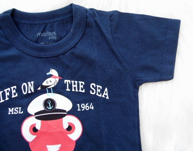 Conjunto Infantil Marisol Play Menino Camiseta Bermuda - Foto 5