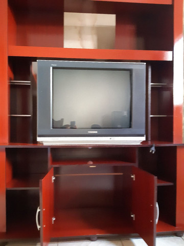 Vendo Estante e Tv 300 Reais os Dois - Foto 2