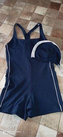 Macaquinho em Helanca Trinys natação ou Hidroginástica
