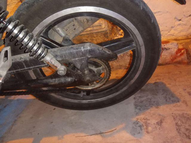 Roda três paletas freio a disco Titan 150 ou 160 - Foto 2