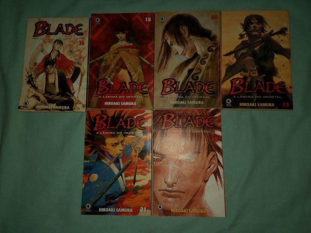 Estou vendendo 14 livros  (BLADE) - Foto 2
