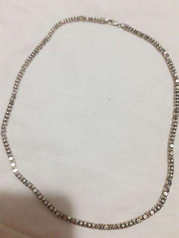 Cordão em prata - Foto 4