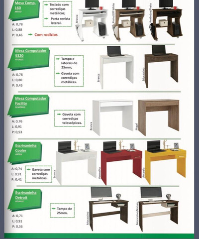 Mesas para escritórios - Foto 5