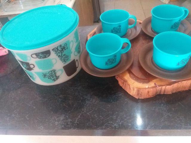 Conjunto de xícaras tupperware - Foto 2