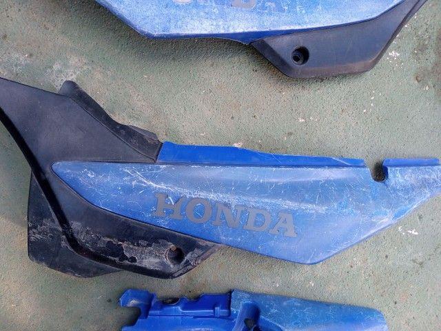 Peças da Bros 150 e 160 azul  - Foto 5