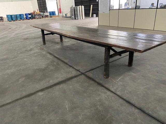 Mesa de madeira ipê  - Foto 5
