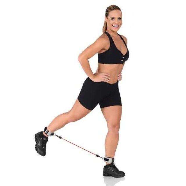 Extensor Elástico Para Pernas E Glúteos - Legs-Up Forte - Cepall - Foto 3
