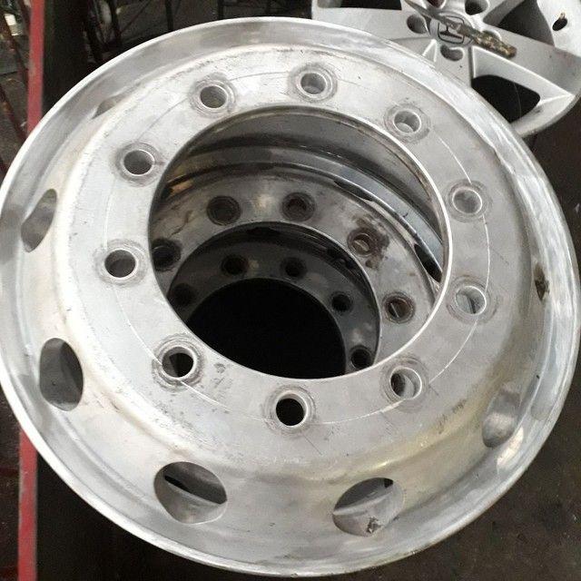 Solda em cabeçote,  rodas e pecas em geral de alumínio!
