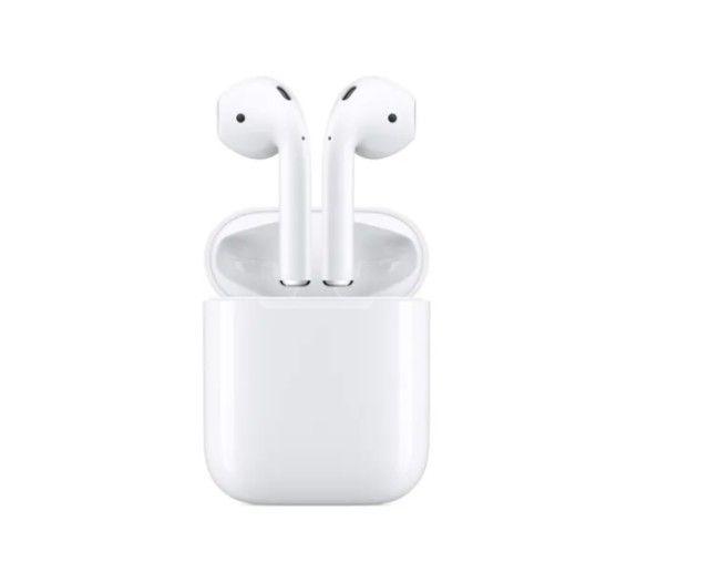 Apple AirPods C/ Estojo De Recarga - Lacrado, Envio Imediato, Frete Grátis!