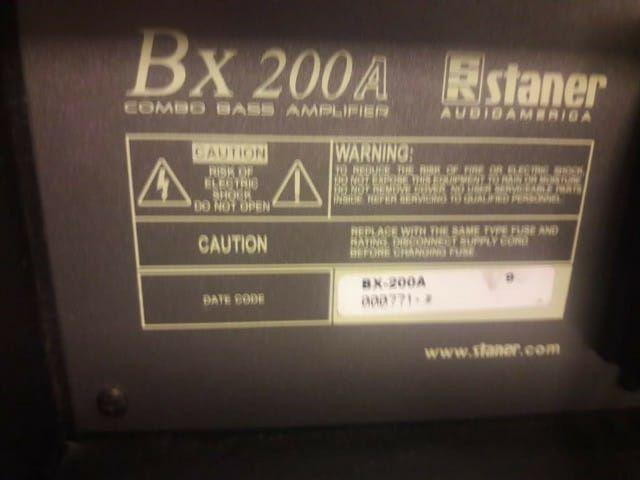 Cubo amplificado BX 200A staner - Foto 5