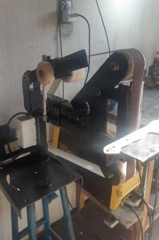 Lixadeira de cinta para cutelaria - Foto 2