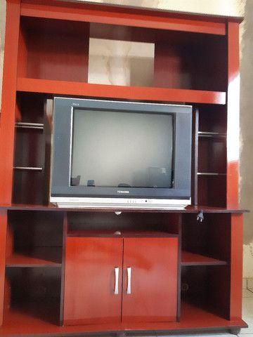 Vendo Estante e Tv 300 Reais os Dois