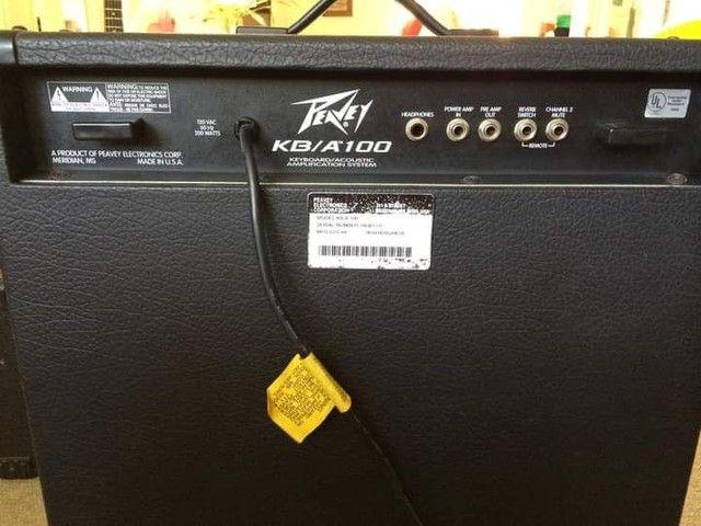 Amplificador Peavey KB/A 100 - Foto 5