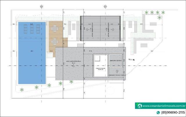 Lançamento no Centro de Porto com 2 Quartos + 50m²   Flats em Porto de Galinhas - Foto 8