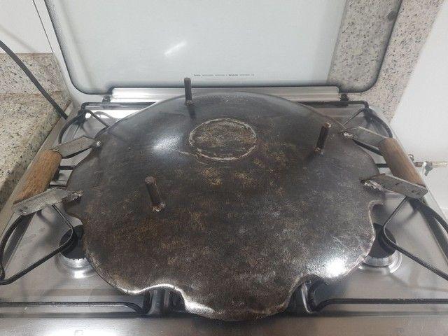 Chapa disco de arado original 52cm fogão  - Foto 3