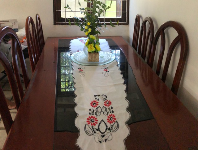 Conjunto mesa de jantar e rack - Foto 4