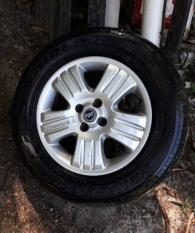 Roda 15 Fiat