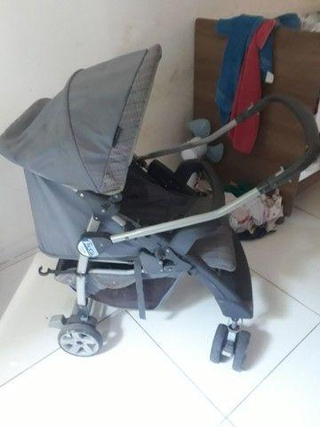 Carrinho de bebê bem conservado  - Foto 5