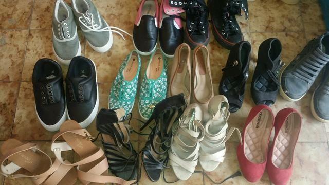 0f9ccd76e Sapatos diversos 10 reais - Roupas e calçados - Henrique Jorge ...