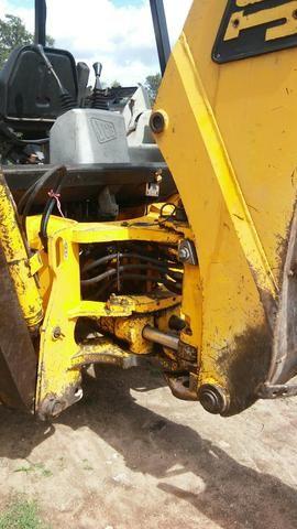 Retro escavadeira JCB 214 serie 3