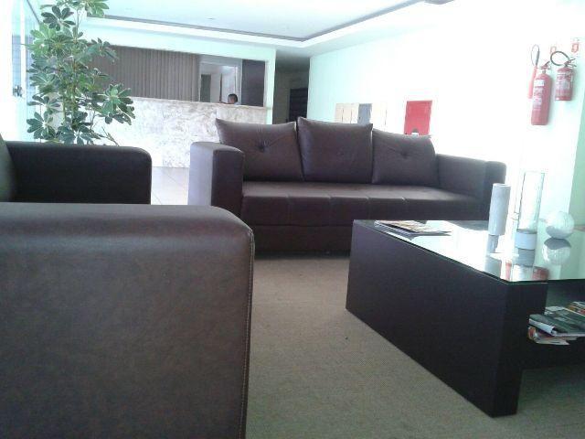 Apartamento em Ponta Negra apto 2 suítes mobiliado parcelo em até 60 meses