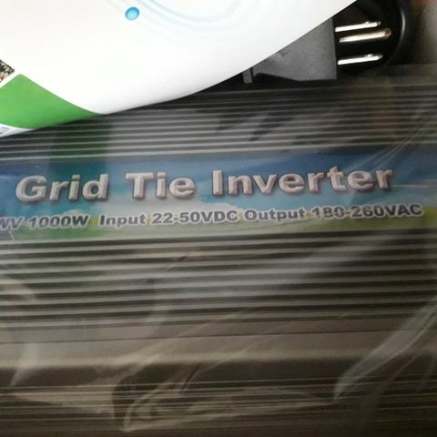 Solar - Inversor Solar Grid Tie