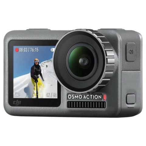 """Câmera de Ação DJI Osmo Action 2.25"""" Touch 4K Cinza"""