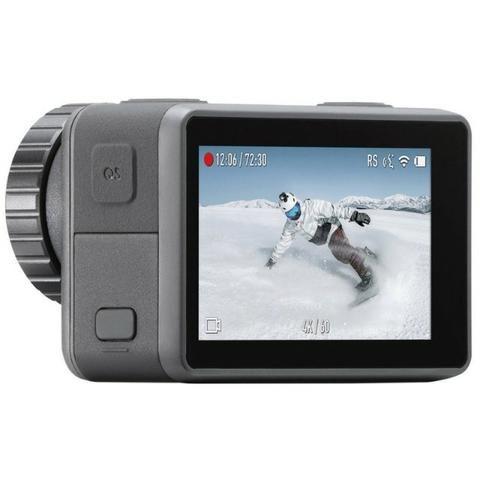 """Câmera de Ação DJI Osmo Action 2.25"""" Touch 4K Cinza - Foto 4"""